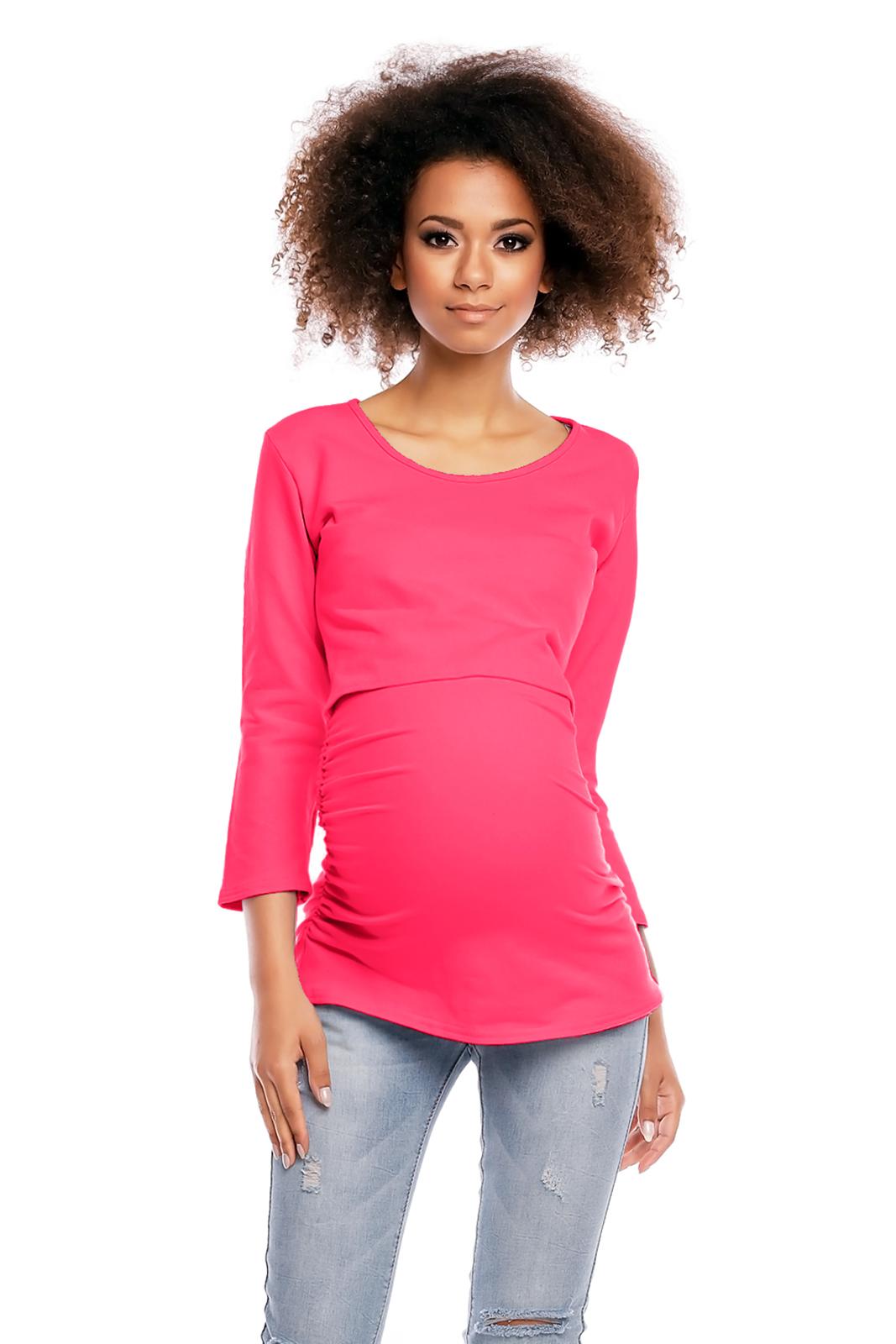 d454863f3da8 Tehotenské tričko mikina aj na dojčenie 1474