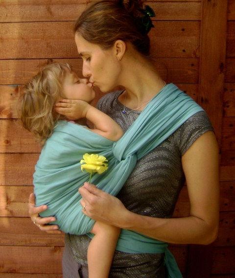 Tkaná babyšatka